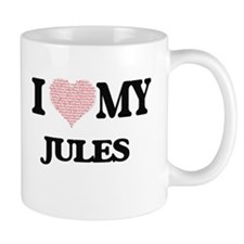 I Love my Jules (Heart Made from Love my word Mugs