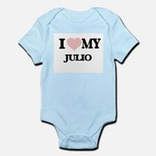 I Love my Julio (Heart Made from Love my Body Suit