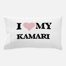 I Love my Kamari (Heart Made from Love Pillow Case
