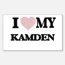 I Love my Kamden (Heart Made from Love my Decal