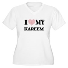I Love my Kareem (Heart Made fro Plus Size T-Shirt