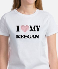 I Love my Keegan (Heart Made from Love my T-Shirt