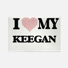 I Love my Keegan (Heart Made from Love my Magnets