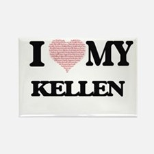 I Love my Kellen (Heart Made from Love my Magnets