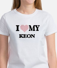 I Love my Keon (Heart Made from Love my wo T-Shirt