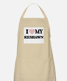 I Love my Keshawn (Heart Made from Love my w Apron