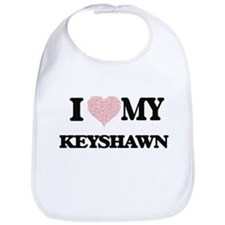 I Love my Keyshawn (Heart Made from Love my wo Bib
