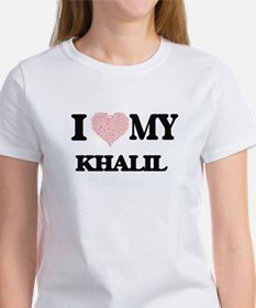 I Love my Khalil (Heart Made from Love my T-Shirt