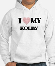 I Love my Kolby (Heart Made from Hoodie