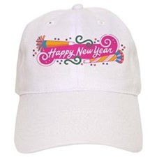 Happy New Year's Party Baseball Cap
