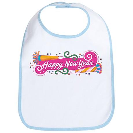 Happy New Year's Party Bib