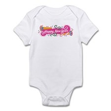 Happy New Year's Party Infant Bodysuit