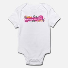 Happy New Year's Party Infant Bodysuit