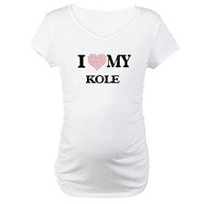 I Love my Kole (Heart Made from Shirt