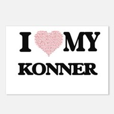 I Love my Konner (Heart M Postcards (Package of 8)
