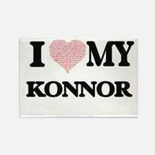 I Love my Konnor (Heart Made from Love my Magnets