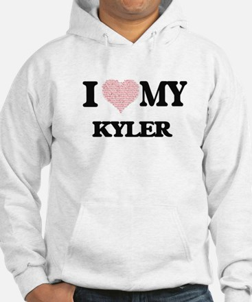 I Love my Kyler (Heart Made from Jumper Hoody
