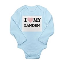 I Love my Landen (Heart Made from Love m Body Suit