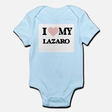 I Love my Lazaro (Heart Made from Love m Body Suit