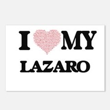 I Love my Lazaro (Heart M Postcards (Package of 8)