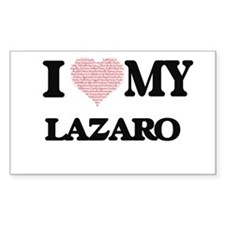 I Love my Lazaro (Heart Made from Love my Decal