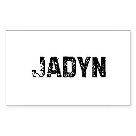 Jadyn Rectangle Sticker