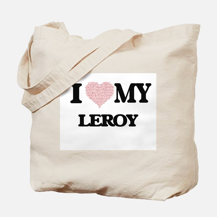 I Love my Leroy (Heart Made from Love my Tote Bag