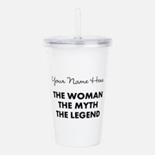Custom Woman Myth Lege Acrylic Double-wall Tumbler