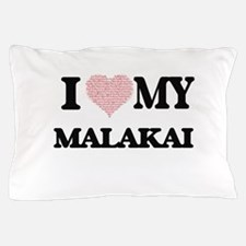 I Love my Malakai (Heart Made from Lov Pillow Case