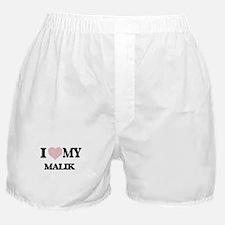 I Love my Malik (Heart Made from Love Boxer Shorts