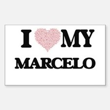 I Love my Marcelo (Heart Made from Love my Decal