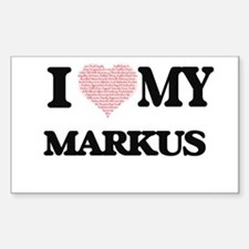 I Love my Markus (Heart Made from Love my Decal