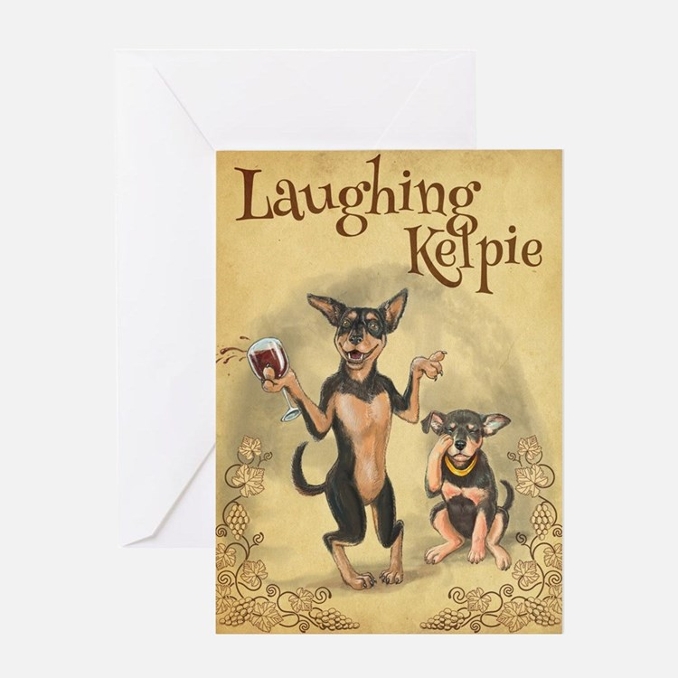 Cute Kelpie Greeting Card