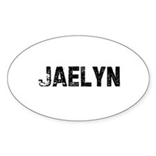 Jaelyn Oval Decal
