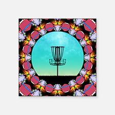 Disc Golf Abstract Basket 6 Sticker