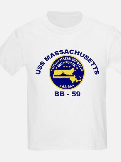 USS Massachusetts BB-59 T-Shirt