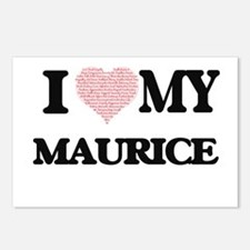 I Love my Maurice (Heart Postcards (Package of 8)