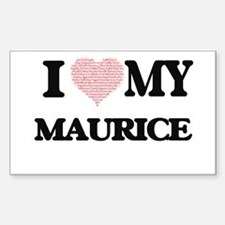 I Love my Maurice (Heart Made from Love my Decal