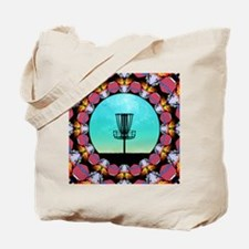 Disc Golf Abstract Basket 6 Tote Bag
