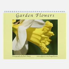 Unique Floral photography Wall Calendar