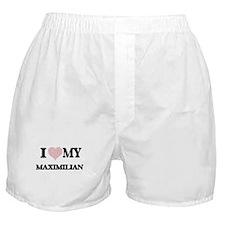 I Love my Maximilian (Heart Made from Boxer Shorts