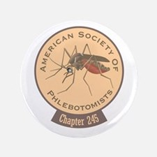 American Society Of Phlebotomists Button