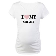 I Love my Micah (Heart Made from Shirt
