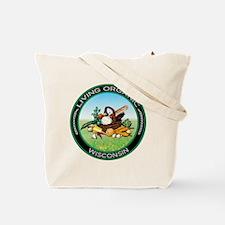 Living Organic Wisconsin Tote Bag