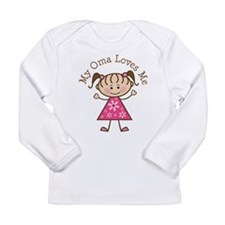 Cute I love me Long Sleeve Infant T-Shirt