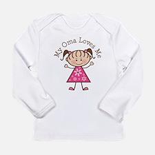Cute Oma Long Sleeve Infant T-Shirt