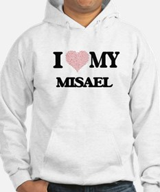 I Love my Misael (Heart Made fro Hoodie