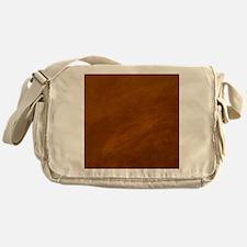 BRUSHED SUEDE TEXTURE Messenger Bag