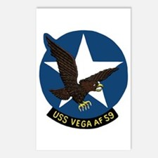 USS Vega (AF 59) Postcards (Package of 8)