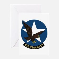 USS Vega (AF 59) Greeting Card